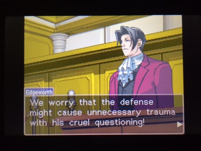 逆転裁判 北米版 コーディー入廷4