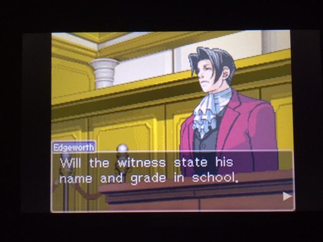 逆転裁判 北米版 コーディー入廷11