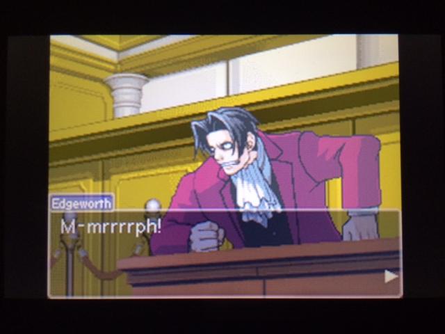 逆転裁判 北米版 コーディー入廷20