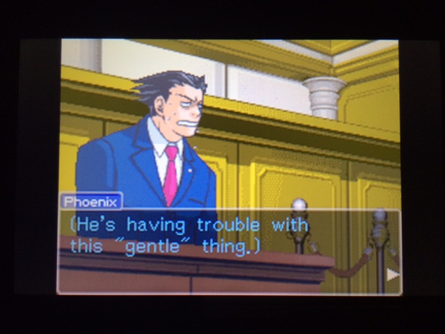 逆転裁判 北米版 コーディー入廷22