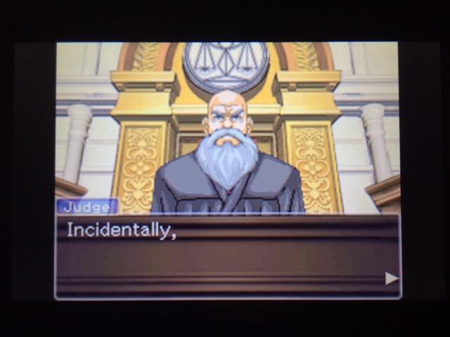 逆転裁判 北米版 コーディー入廷30