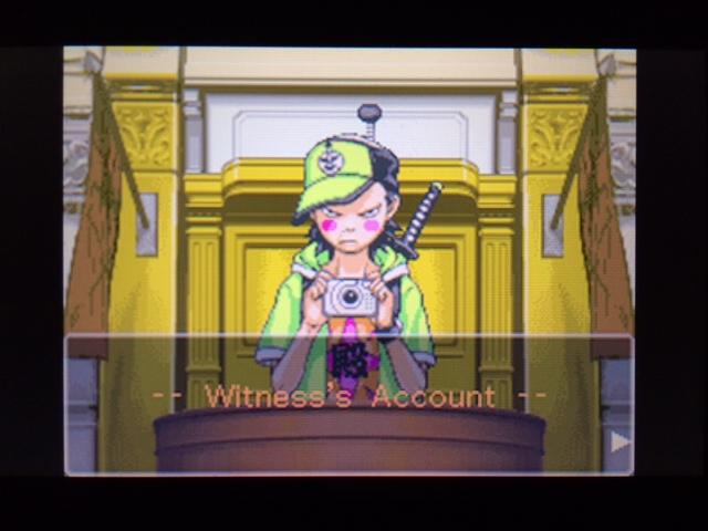逆転裁判 北米版 コーディーの証言1