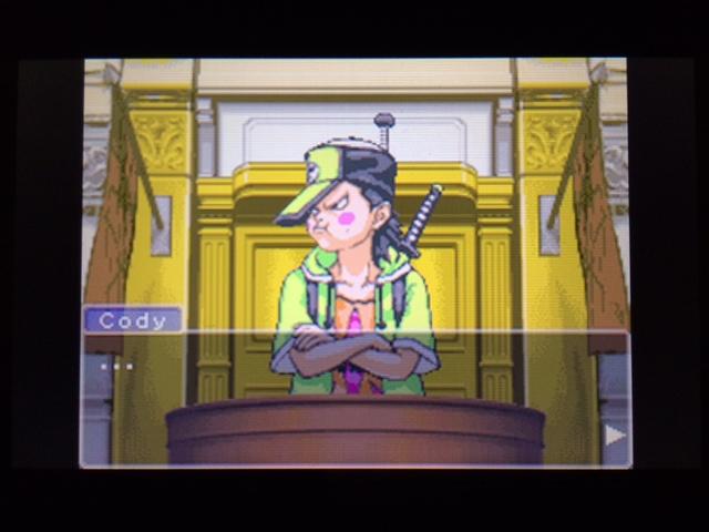 逆転裁判 北米版 コーディーの証言11