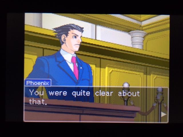 逆転裁判 北米版 コーディーの証言17
