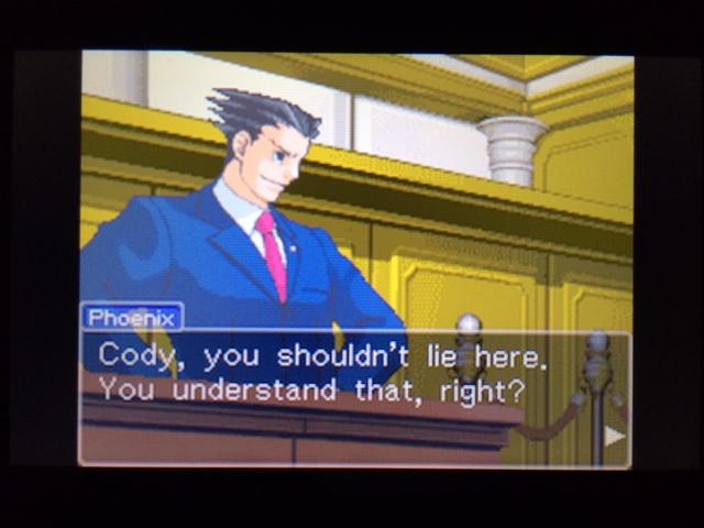 逆転裁判 北米版 コーディーの証言19