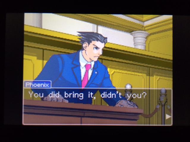 逆転裁判 北米版 コーディーの証言28