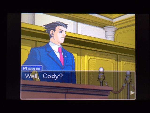 逆転裁判 北米版 コーディーの証言34