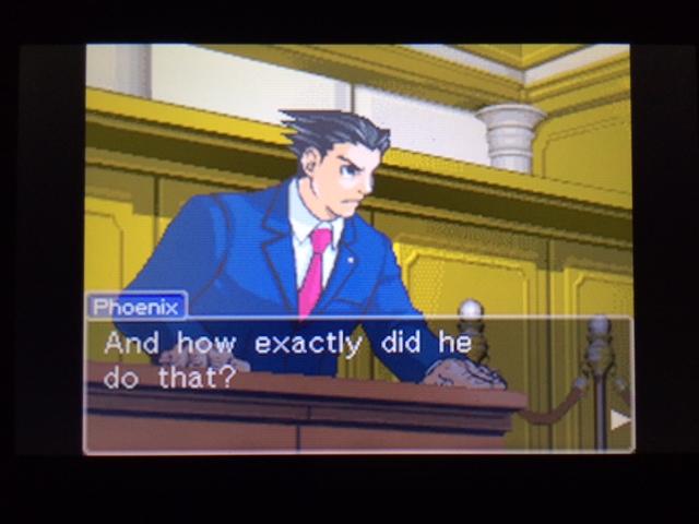 逆転裁判 北米版 コーディー証言 何を見たのか14