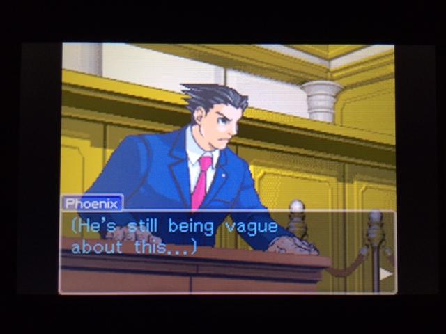 逆転裁判 北米版 コーディー証言 何を見たのか19