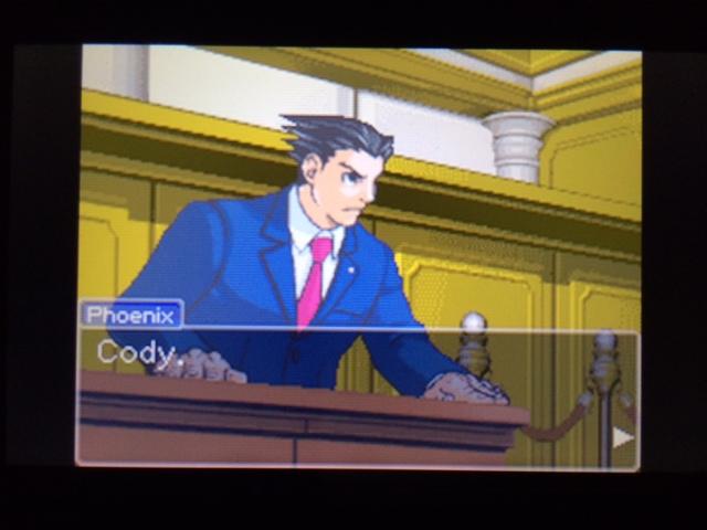逆転裁判 北米版 コーディー証言 何を見たのか23
