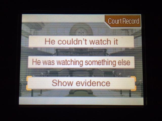 逆転裁判 北米版 コーディーが見ていなかった理由4