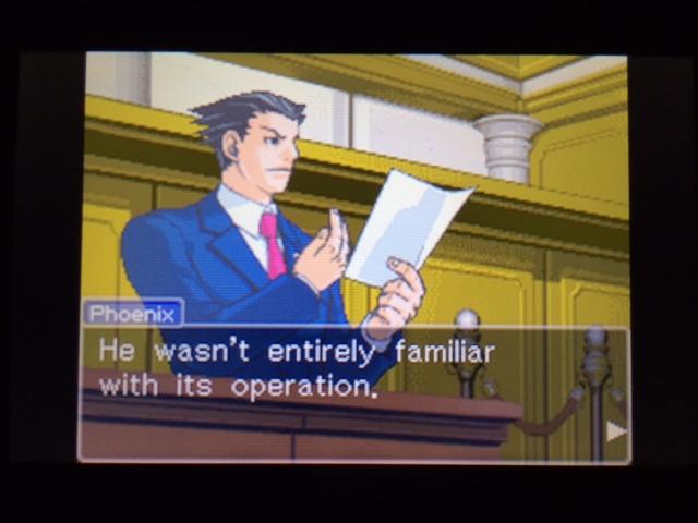 逆転裁判 北米版 コーディーが見ていなかった理由13