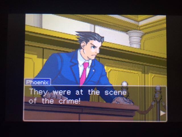 逆転裁判 北米版 本当の事件現場35