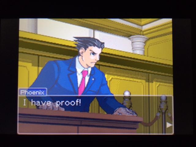 逆転裁判 北米版 フェニックスの主張14