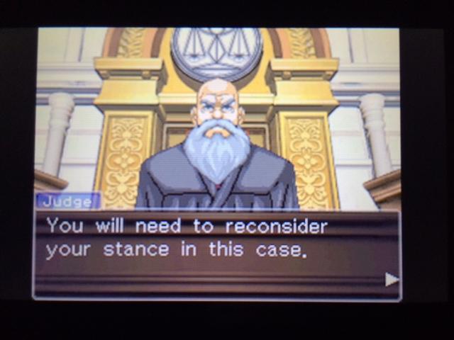 逆転裁判 北米版 ウィル審理二日目終了15