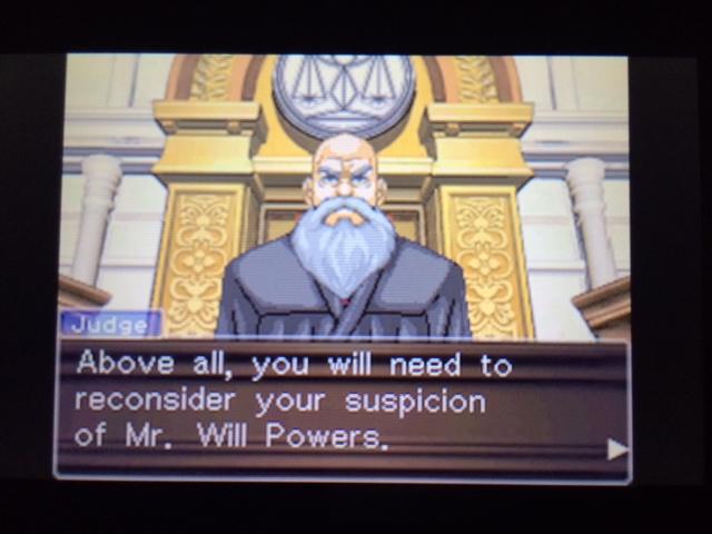 逆転裁判 北米版 ウィル審理二日目終了16