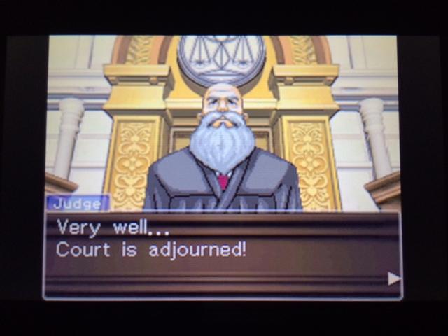 逆転裁判 北米版 ウィル審理二日目終了19