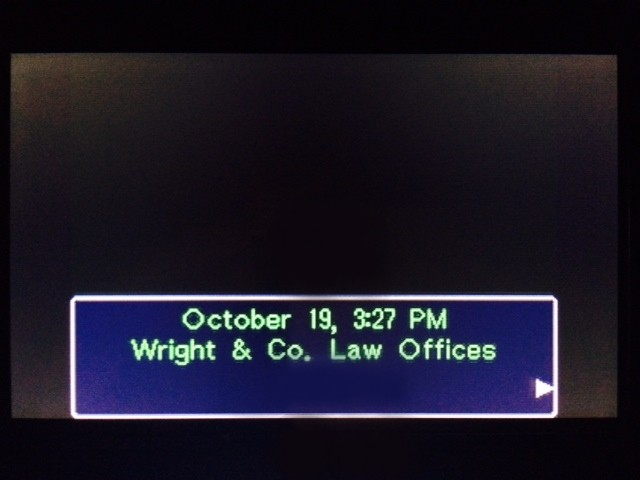 逆転裁判 北米版 ウィル審理前最終捜査1
