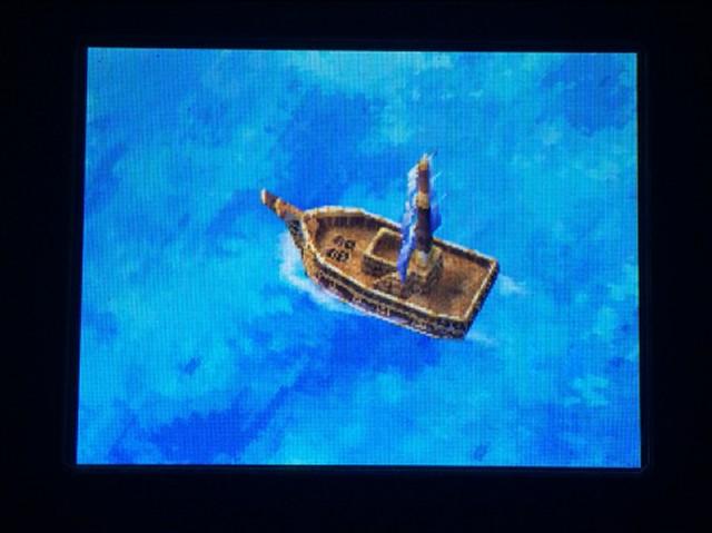 ドラクエ4 北米版 船旅開始19