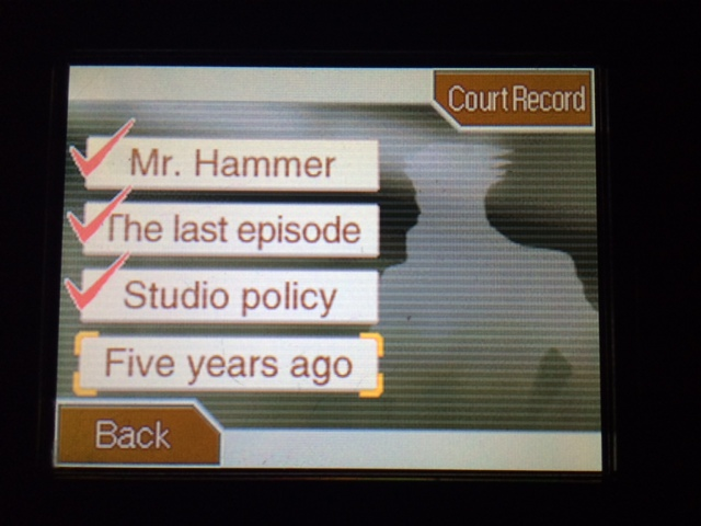 逆転裁判 北米版 5年前のアクシデント38