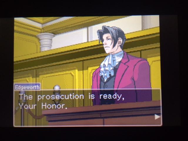 逆転裁判 北米版 ウィル・パワーズ審理最終日オープニング3