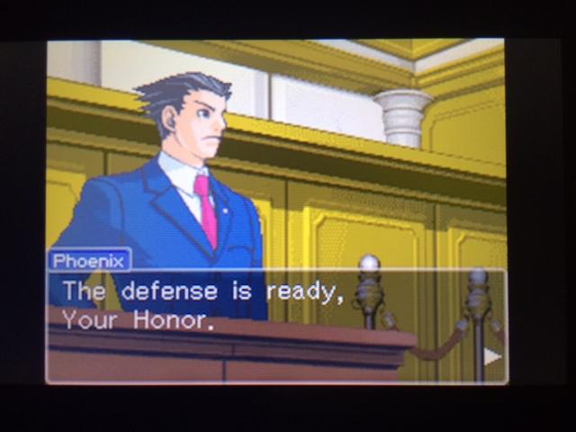 逆転裁判 北米版 ウィル・パワーズ審理最終日オープニング4