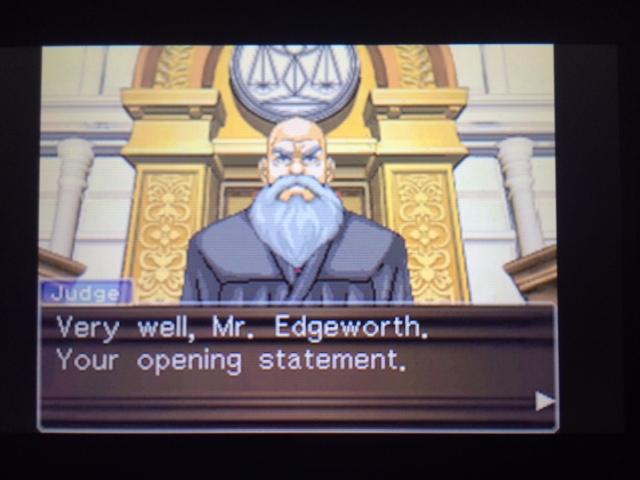 逆転裁判 北米版 ウィル・パワーズ審理最終日オープニング7
