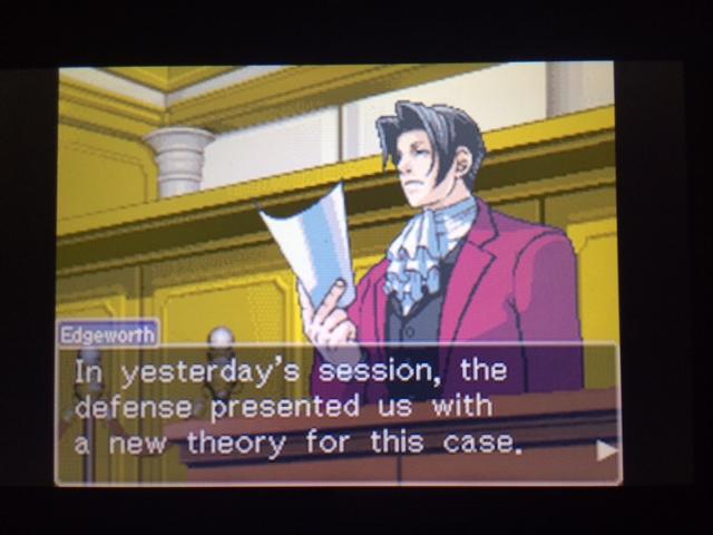 逆転裁判 北米版 ウィル・パワーズ審理最終日オープニング8