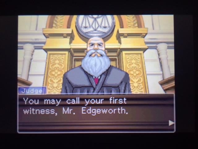 逆転裁判 北米版 ウィル・パワーズ審理最終日オープニング14