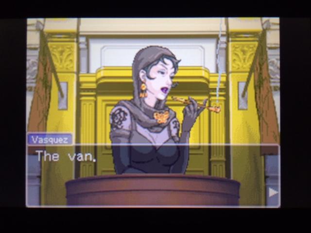 逆転裁判 北米版 ヴァスケズ最初の証言13