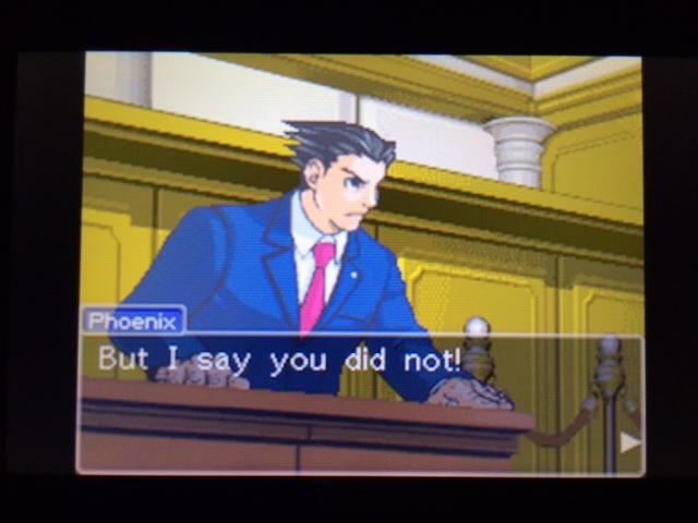逆転裁判 北米版 ヴァスケズ最初の証言26