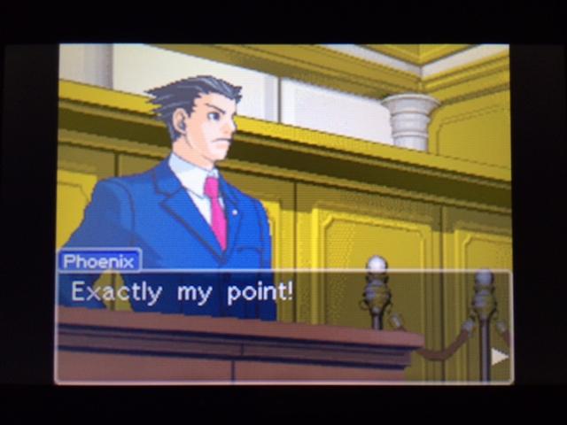 逆転裁判 北米版 ヴァスケズ最初の証言33