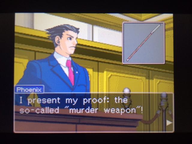 逆転裁判 北米版 本当の凶器5