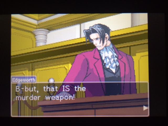 逆転裁判 北米版 本当の凶器6
