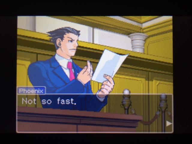 逆転裁判 北米版 本当の凶器7