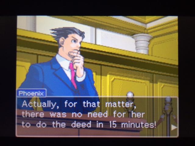 逆転裁判 北米版 遺体の運搬問題5