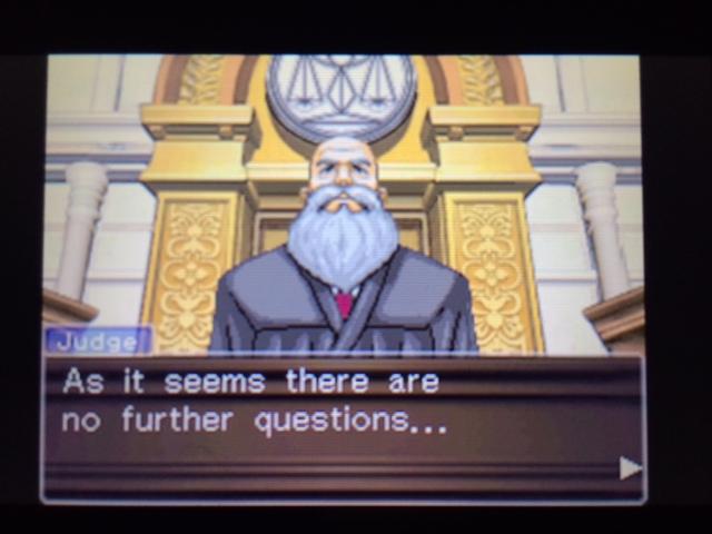 逆転裁判 北米版 エッジワースの異議1