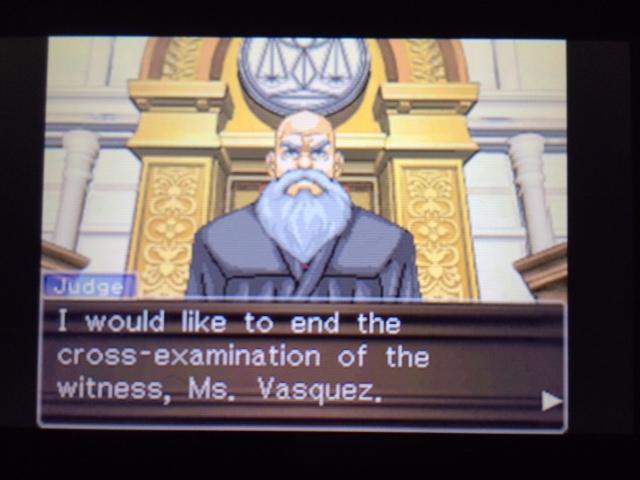 逆転裁判 北米版 エッジワースの異議2