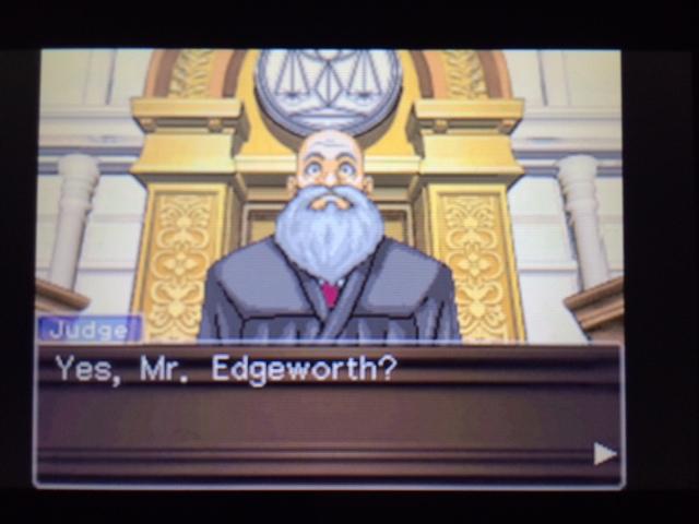 逆転裁判 北米版 エッジワースの異議5