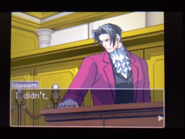 逆転裁判 北米版 エッジワースの異議7