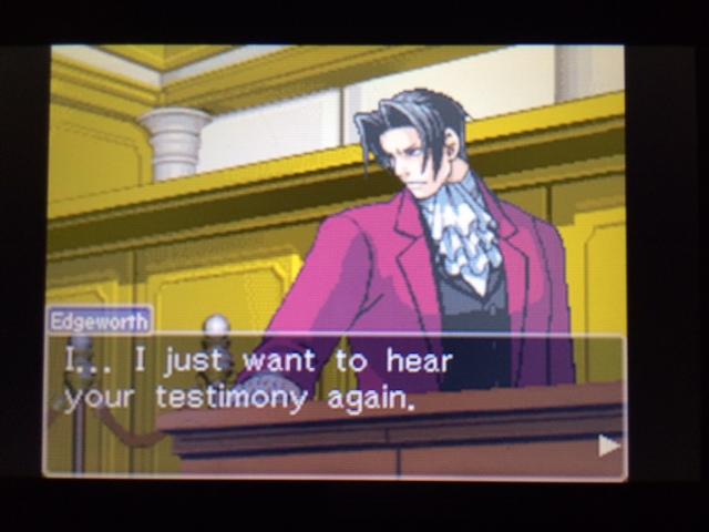 逆転裁判 北米版 エッジワースの異議13