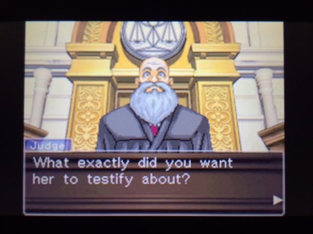 逆転裁判 北米版 エッジワースの異議18