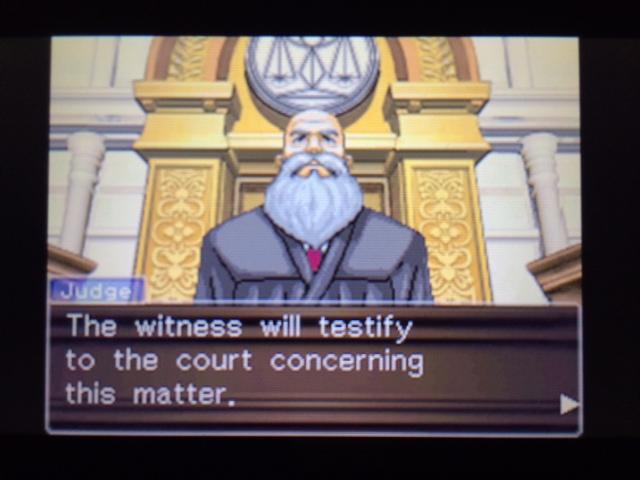 逆転裁判 北米版 エッジワースの異議25