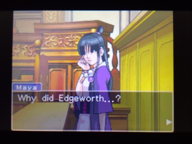 逆転裁判 北米版 エッジワースの異議28