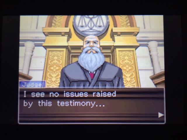 逆転裁判 北米版 ヴァスケズの証言 死体発見後7