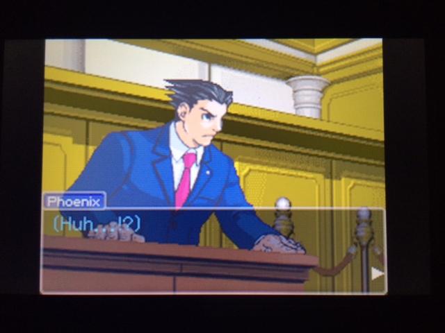 逆転裁判 北米版 エッジワース検事の反対尋問5