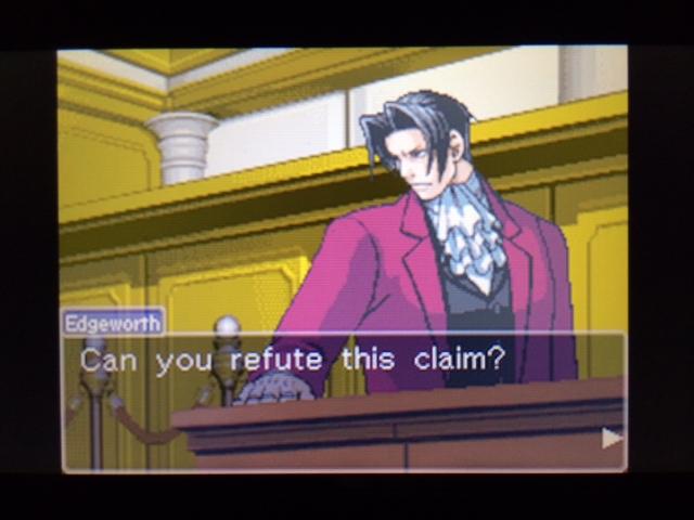逆転裁判 北米版 弁護側と検察側の追究2