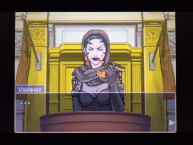 逆転裁判 北米版 弁護側と検察側の追究3