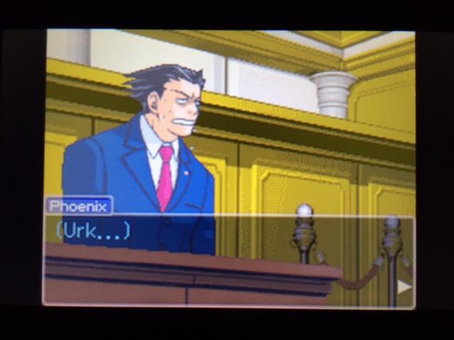 逆転裁判 北米版 弁護側と検察側の追究7
