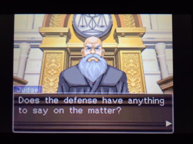 逆転裁判 北米版 弁護側と検察側の追究12